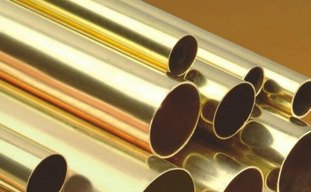 types of plumbing pipes: Brass