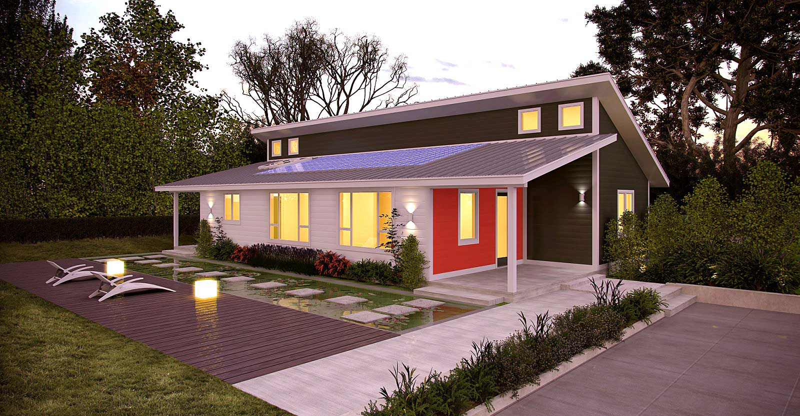 cost effective prefabricated house