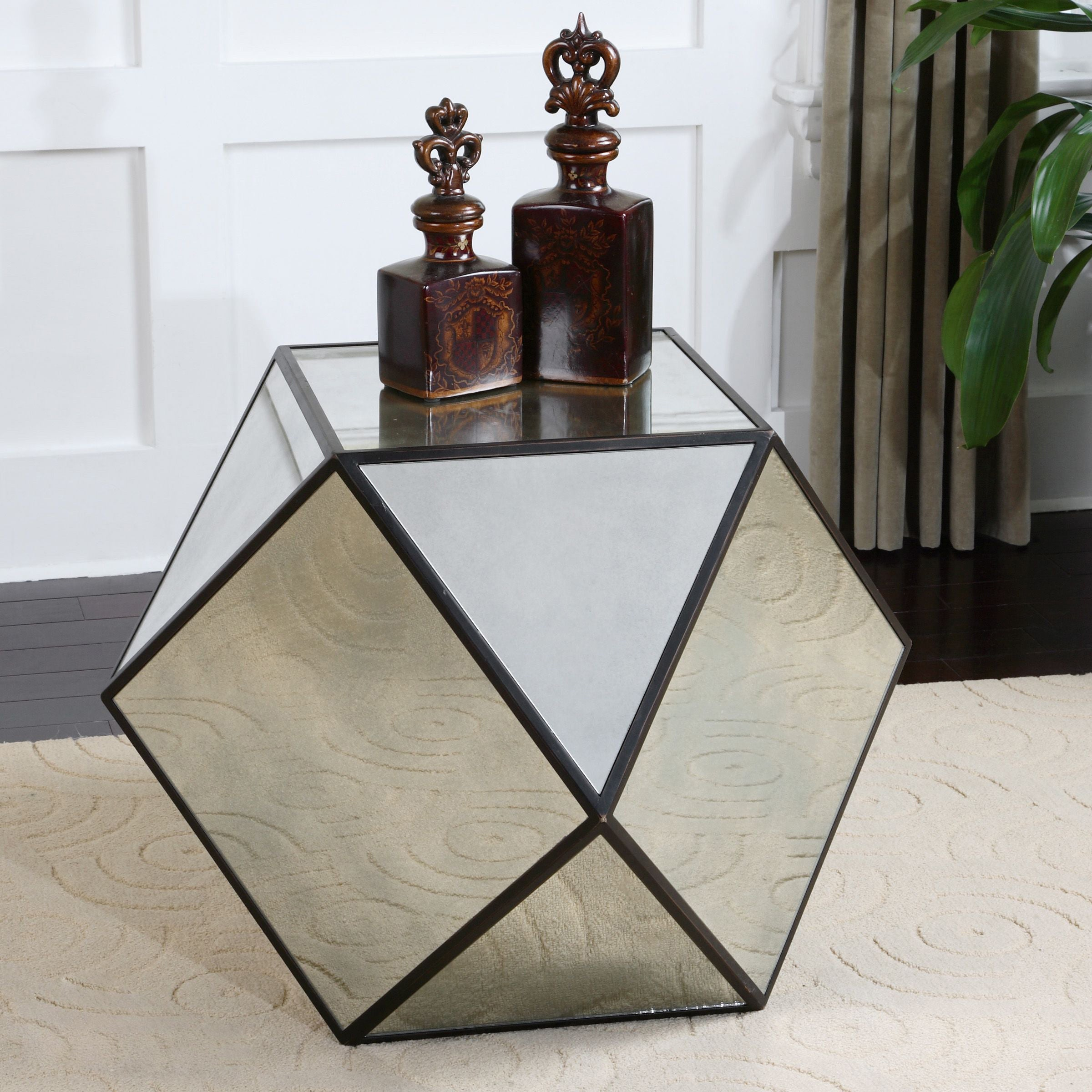 polygon shaped table
