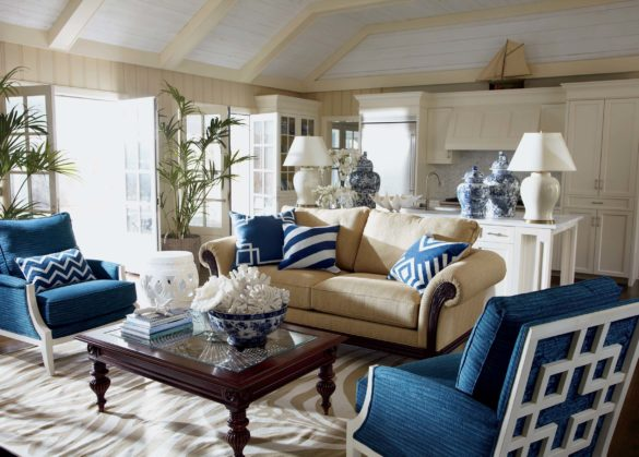 upholstery: wooden house interior
