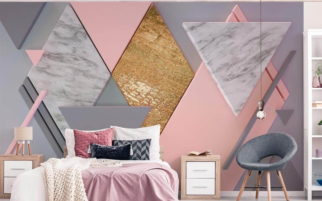 Play With Different Wallpaper Designs For Your Bedroom