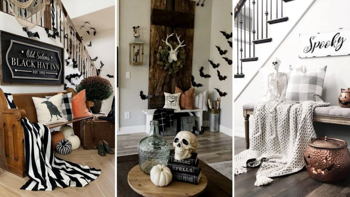Some Of The Best Modern Halloween Decor For This Halloween