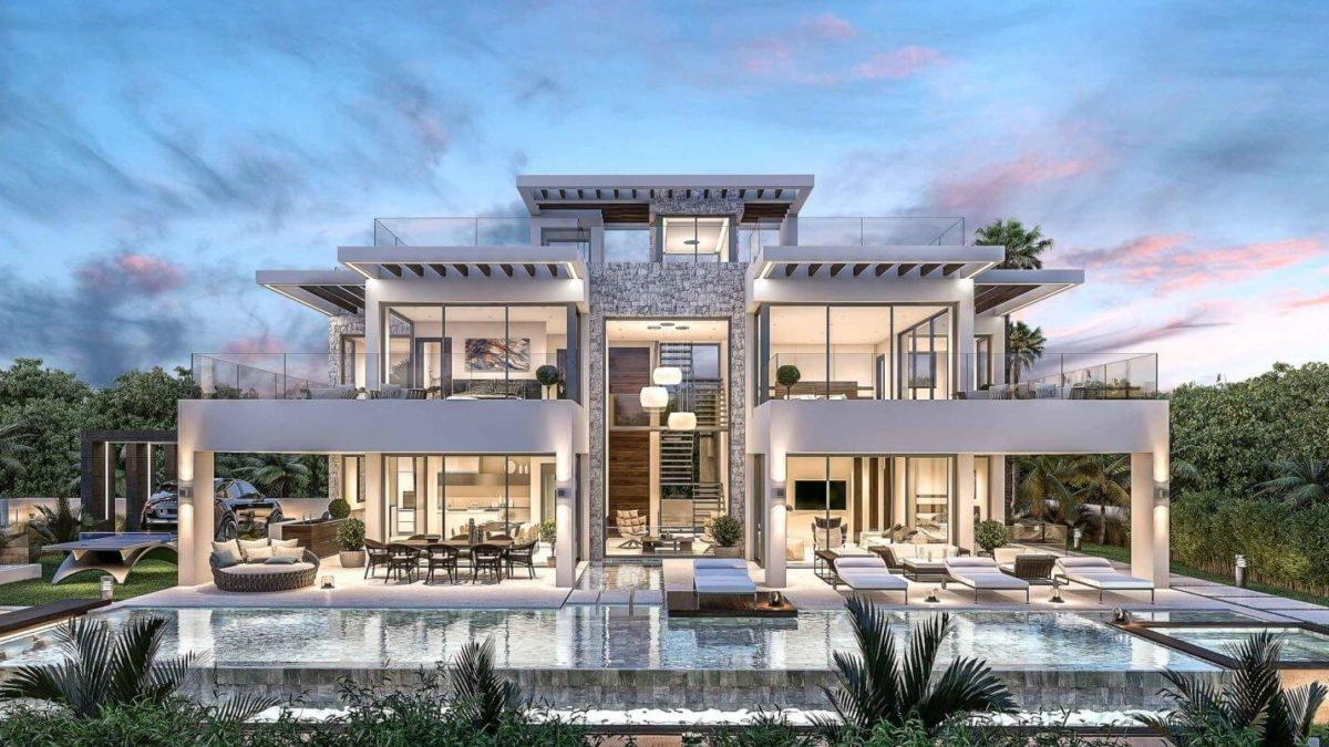 Top 5 Luxurious And Modern Villa Designs In 2020 Homedesignnow