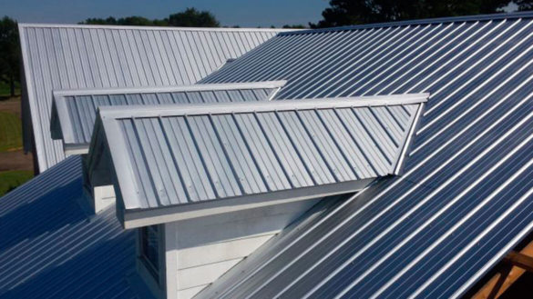 metal shed roof
