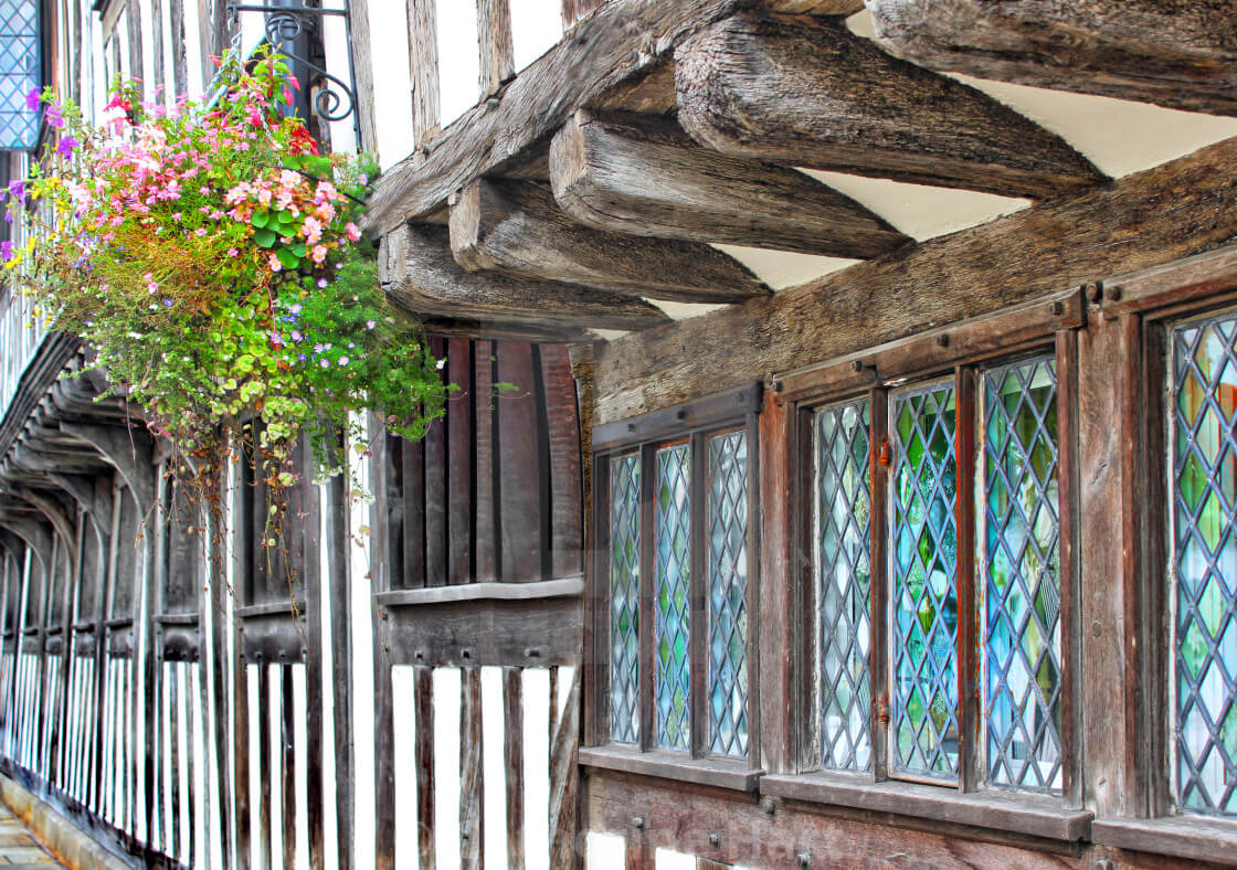 window for tudor house