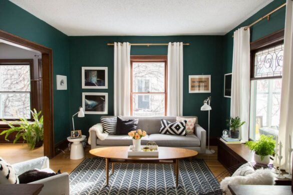 colors that go with green