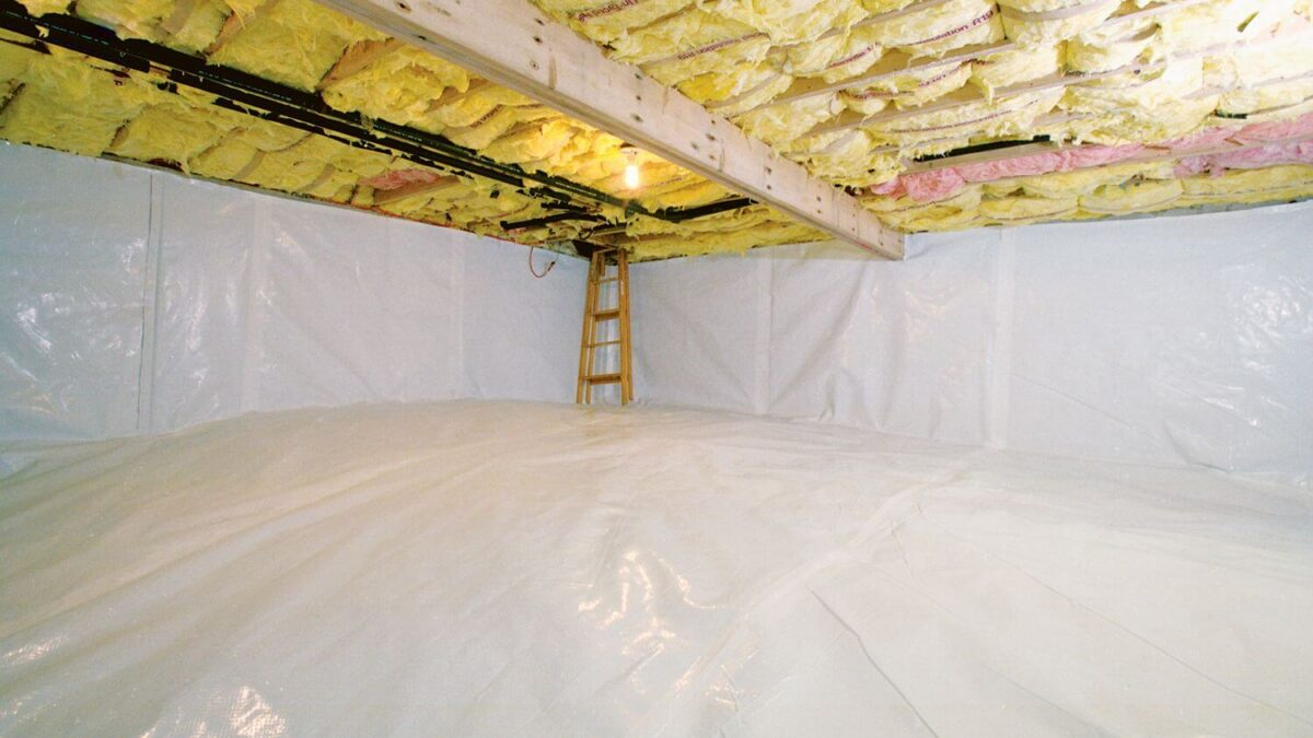 Steps On How To Insulate A Crawl Space
