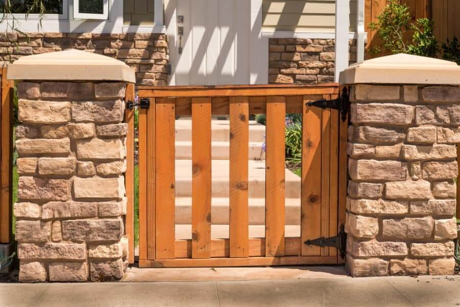 wood gate ideas