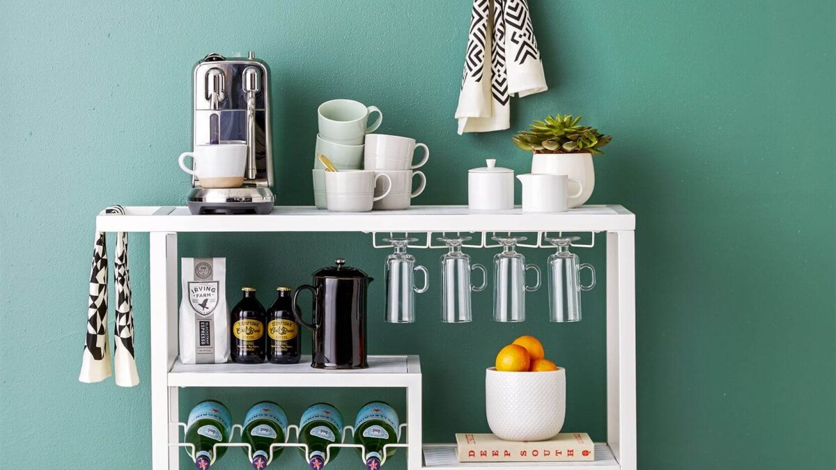 How To Create The Best Kitchen Coffee Bar? (Both DIY And Ready-Made)