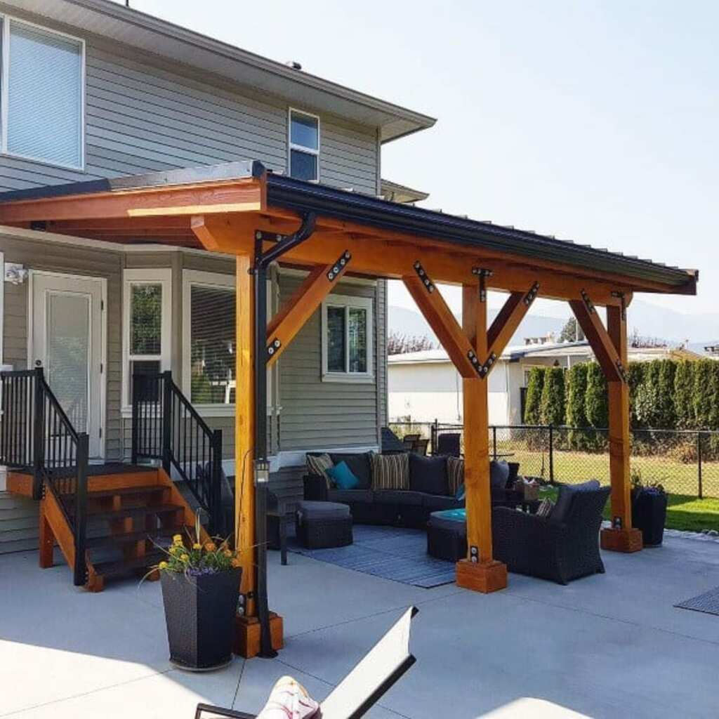 The Best Stylish Outdoor Covered Patio Roof Ideas on Covered Patio Ideas id=64744