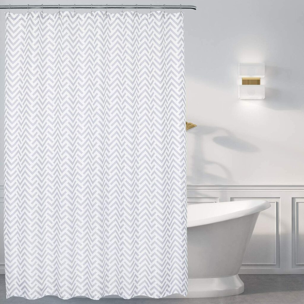 extra long shower curtain
