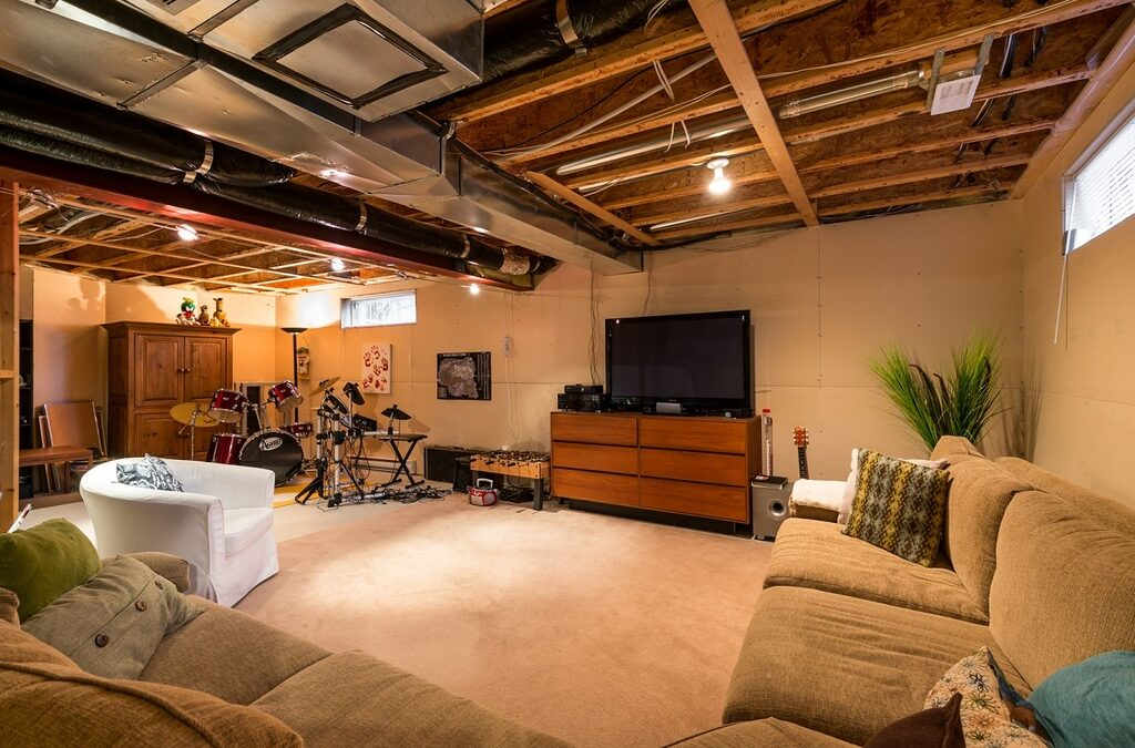 Unfinished Basement Ideas: 11+ Creative & Fun Ways to Utilize Your Unused Space!