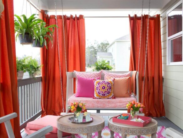 Types of Outdoor Curtains