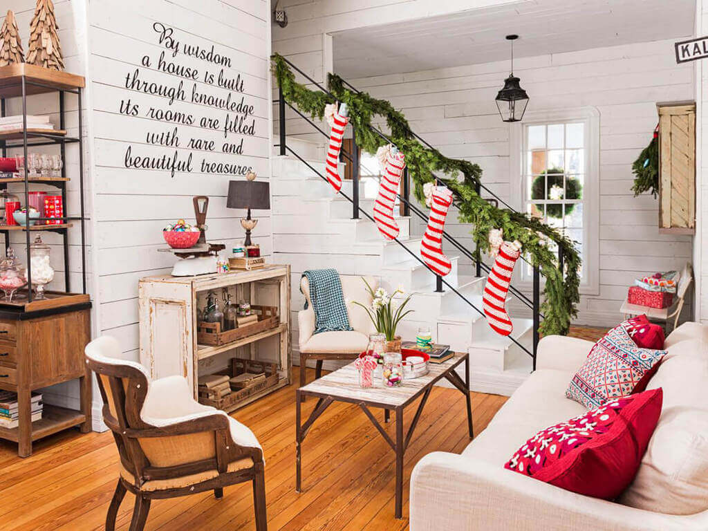 christmas living room decoration ideas
