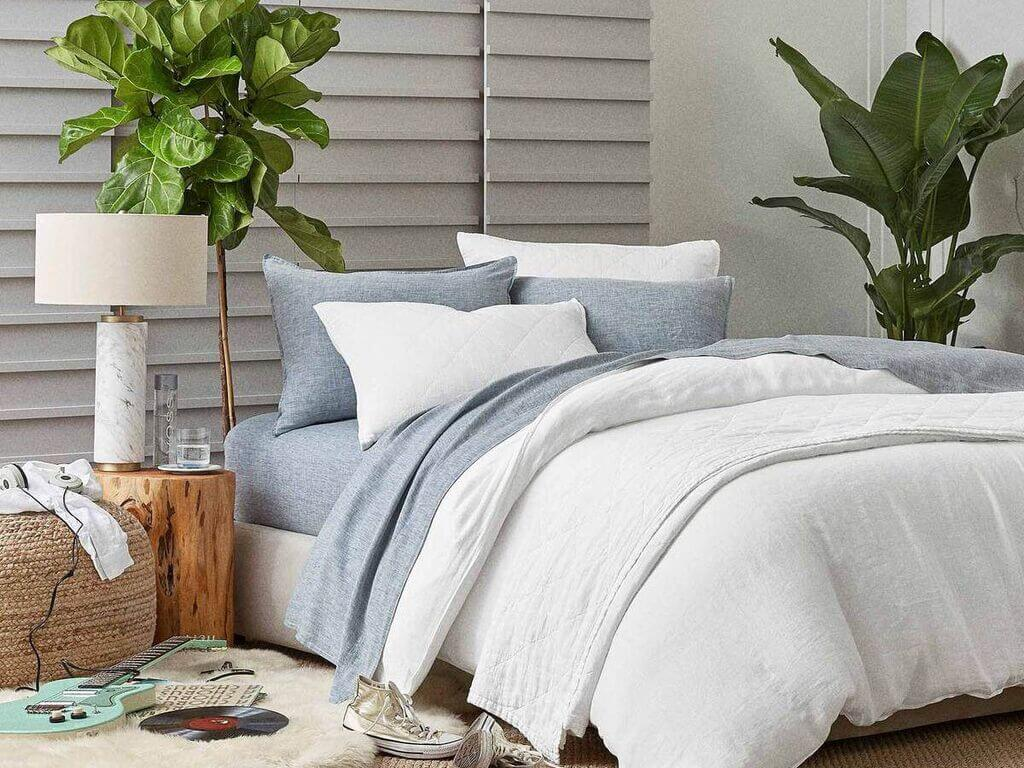 Update Bedding with Playful Sheets