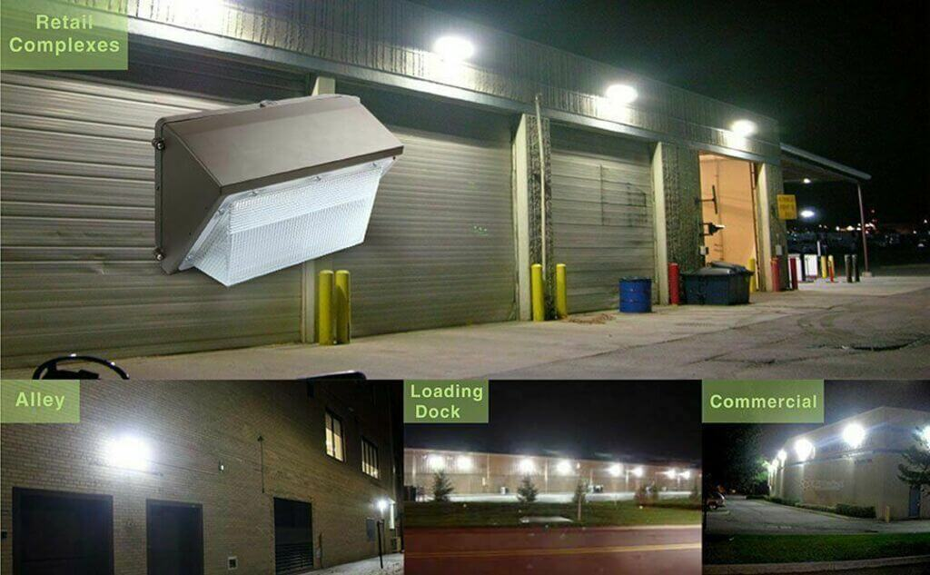 LED Wall Packs for Exterior Lighting in Residential Areas