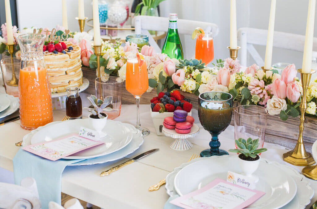 Turn Thoughts into Reality with These Simple Yet Pretty Mother's Day Brunch Decor Ideas