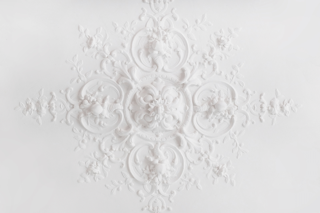 ceiling texture types: Lace Ceiling Texture