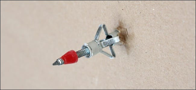 how to insert drywall anchors