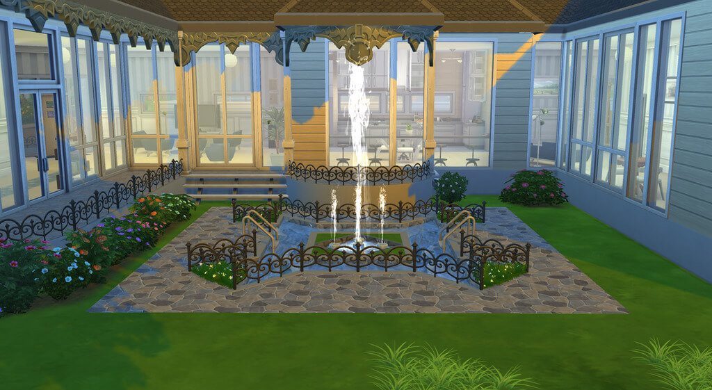 sims 4 house ideas: use more water
