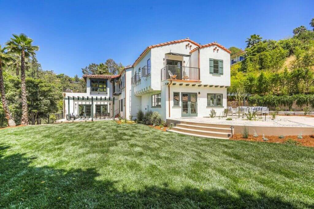 Vince Vaughn's Former Los Angeles House: spanish colonial