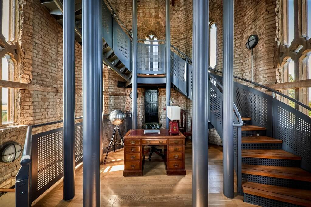 gothic victorian house: Hadlow Tower